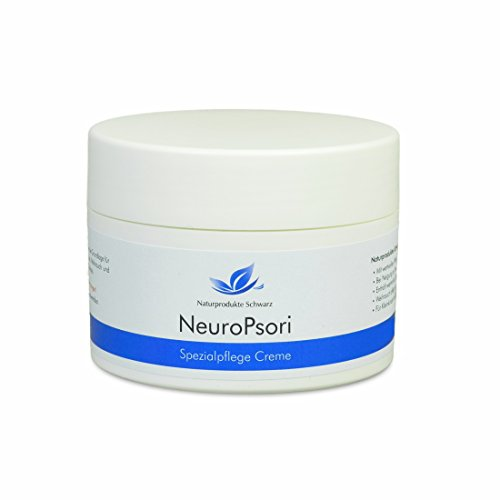 Naturprodukte Schwarz - NeuroPsori Spezialpflege Creme bei Schuppenflechte / Psoriasis und Neurodermitis -