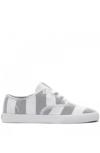 SUPRA Shoes ginnastica WRAP WHITE/GREY-WHITE Bianco (bianco)