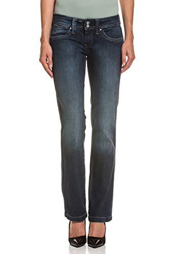 Pepe Jeans Damen Jeans Banji Mikrofaser Denim-Hose Unifarben 6c61aae057a