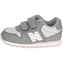 New Balance KV500 PGI Zapatos de bebé de Color Rosa Gris Sneak Sneak