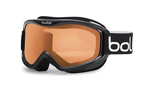 Bollé 20574 - Maschera da Sci, Nero (Shiny Black/Citrus), taglia unica
