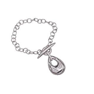 Orphelia Damen-Armband T-lock 19 CM 925 Sterlingsilber mit Zirkonia ZA-1902