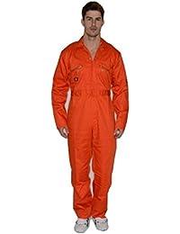 98039540631f Dickies Men s Redhawk Workwear Zip Front Overall