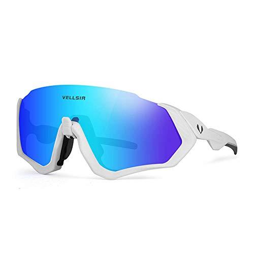 ANSKT Polarisierte Sonnenbrille reitbrille bergsport Laufen windschutzscheibe Outdoor Freizeit männer und Frauen Fahrrad Brille uv400 @ 1