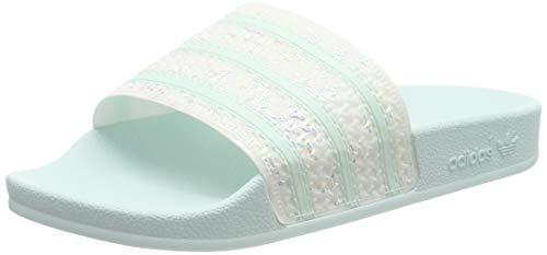 adidas Damen Adilette Dusch-& Badeschuhe, Weiß (FTWR White), 38 EU