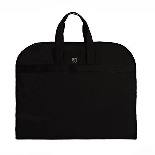 BAGSMART Business Kleidersack mit Tragegriffen, Reisen, im Auto Schwarz (Anzug-reisetasche)