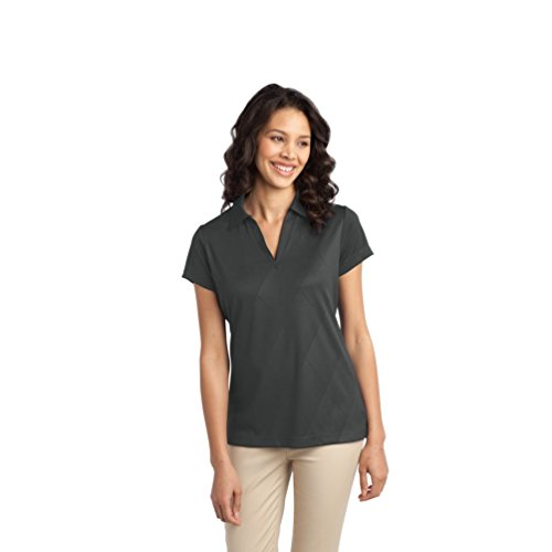 port-authority-polo-para-mujer-gris-gris-x-large
