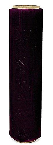 St @ llion 1 Rollen der schwarzen Paletten-Dehnungs-Schrumpffolie 400Mm X 250M 17Mu (Pack of 2 Roll)