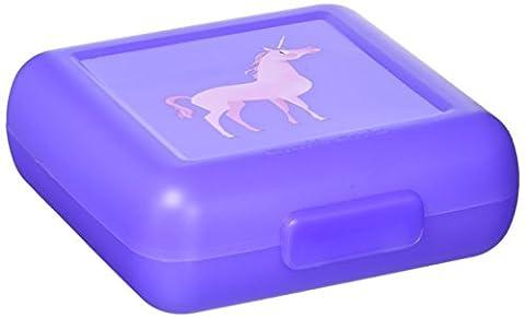 Crocodile Creek 386513–6Snack Box Boîte à pain Licorne Unicorn