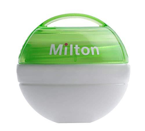 Milton Tragbar Schnuller Sterilisator + 10 Mini Sterilisieren Tabletten Gratis !! (Grün) (Sterilisieren Tabletten)