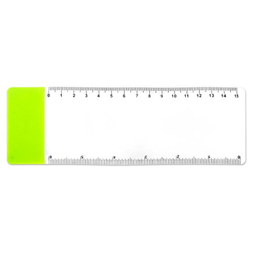 SODIAL (R) Pocket-Ruler Bookmark Lupe Blatt Vergroesserung 3-fache