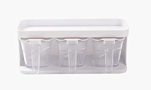 Frei Von Zucker-punsch (hnxsy Küche Aroma Box Kunststoff Transparent Presse Aroma Tank Aufbewahrungsbox Set Frei Punsch Dichtung Feuchtigkeitsbeständig)