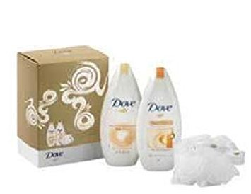 Dove Cream oil beauty Care Body Wash 250ml + Slik...