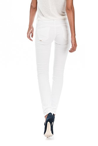 Salsa - Pantalon Wonder Push Up anti-taches jambe très juste - Femme Blanc