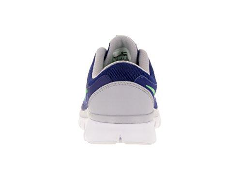Nike Jungen Flex 2015 Rn (Gs) Laufschuhe Azul / Verde / Gris (Dp Ryl Bl / Grn Strk-Wlf Gry-Whi)