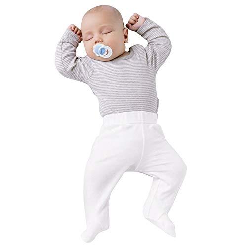 2 STÜCKE Neugeborene Babykleidung Kleinkind Baby Bekleidungssets Baumwolle Schlafanzug Set Lange Ärmel Streifen T-Shirt Top + Hosen Set Outfit 6 Monate bis 24 Monate Felicove