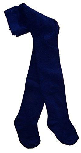 Baby Strumpfhose Knitted Cotton Rich Neugeboren 0-6m 6-12m 1-2 Jahre 7 Farben und 5 Muster-Styles Gr. 56, navy -
