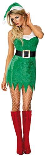 Risque Kostüm - Sexy Weihnachtsfrau-Kostüm für Damen - M