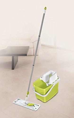 Leifheit Clean M Set Combi, Metal, Verde, 27.5x25.5x46.5 cm