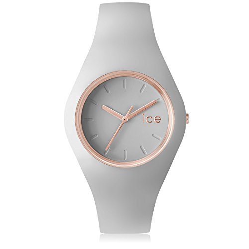 Ice-Watch Glam Pastel Unisex-Uhr Analog Quarz mit Silikonarmband – 001628