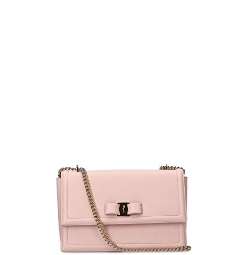 Salvatore Ferragamo Luxury Fashion Donna 683705 Rosa Borsa A Spalla | Autunno Inverno 19