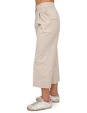 Twin Set Pantalón Casual Mujer ts821u–t00416Beige eh185ts821u - t00416