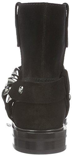 Casadei - 1r609e020, Stivali bassi con imbottitura leggera Donna Nero (Schwarz (Black Ooo))