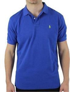 Ralph Lauren Short Sleeve Polo For Men (Royal Blue,
