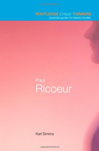 paul ricoeur - the socius and the neighbor essay Ricoeur practices a philosophy with presuppositions, which means he acknowledges the priority of language, and especially symbols, in the project of self-understanding.
