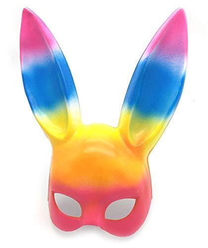 Fliegend Damen Masquerade Maske/Kaninchen Maske/Halloween Maske/Karneval Maskerade Maske Gesichtsmaske/Sexy Augenmaske/Erotik Maske/Maskenball Maske für Weihnachten ()