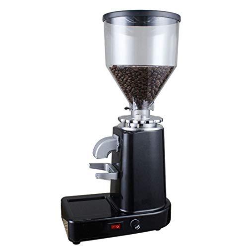 Yajiemei Italienischer Schleifer mit Powder Bin Coffee Bean Grinder (Color : Red)