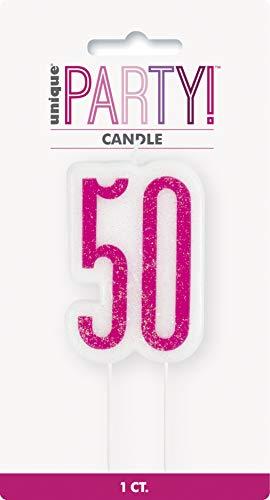 Unique Party- Vela, Color pink & silver (83895)