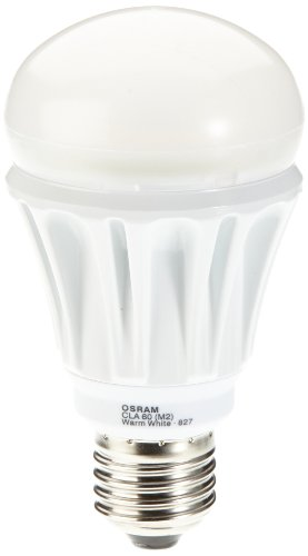 Osram LED Superstar Classic A 12 Watt (ersetzt 60 Watt), Sockel E27, 827-extra warmton, 810 Lumen, dimmbar, Normallampenform, 230 V 903715 -