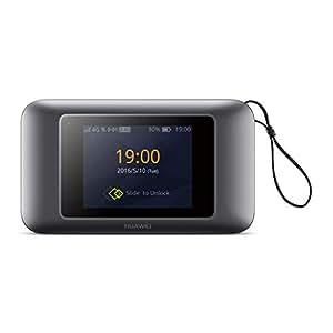 Huawei e5787 4 G/300 Mbps Touchscreen entsperrt High Speed Mobile WLAN Hotspot Gerät – Schwarz