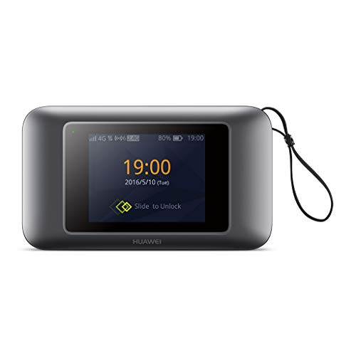 Huawei e5787 4 G/300 Mbps Touchscreen entsperrt High Speed Mobile WLAN Hotspot Gerät - Schwarz Mobile High-speed Internet