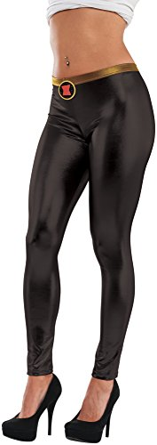 (Rubie's Leggins Black Widow Marvel Frauen)