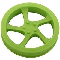 copcopet – Perros juguete Llanta de aluminio: flotante de goma ...