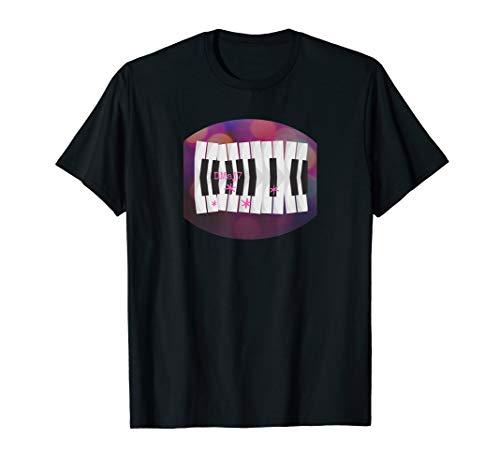 Learning Piano Jazz-Harmonie auf dem Klavier lernen T-shirt