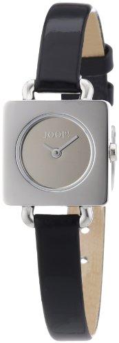 Joop JP100972F02 - Reloj analógico de cuarzo para mujer con correa de piel, color negro