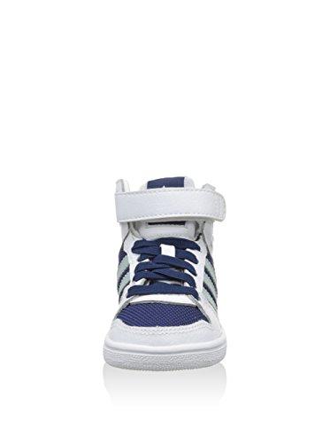 adidas Unisex, bambini Pro Play 2 Cf I Sneakers stringate bianco / blu marino