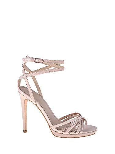 Guess Tonya2/Sandalo (Sandal)/Leathe Scarpe con Cinturino alla Caviglia Donna, Rosa (Pink Blush) 37 EU