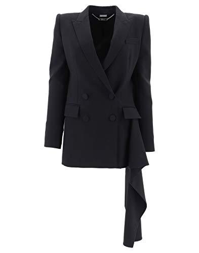 Alexander McQueen Damen 491311QLJ091000 Schwarz Wolle Jacke 15