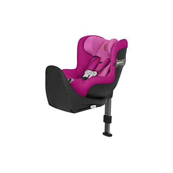 CYBEX Gold Sirona S i-Size Car Seat with 360° Swivel Mechanism and ISOFIX, Incl. SensorSafe chest clip, From Birth to approx. 4 years, Up to Max. 105 cm Height, Fancy Pink  Cybex gold car seat sirona s i-size incl. sensorsafe Item number: 519001863 Colour: fancy pink 1