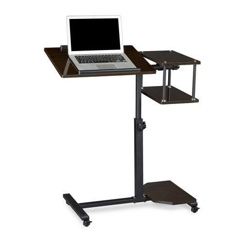 Relaxdays Laptoptisch höhenverstellbar XL HBT: 100 x 77 x 40 cm Großer Notebook Tisch als...