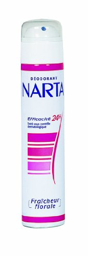 NARTA - Déodorant Femme Atomiseur Fraîcheur Florale Efficacité 24h - 200 ml