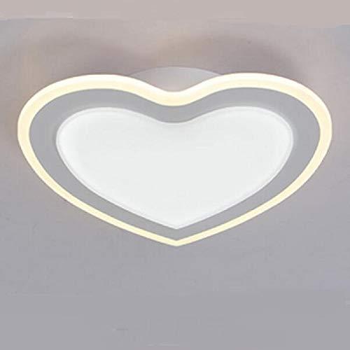 (Bwlzsp 1 PCS Moderne Minimalistische Doppelte Herz Himmel Laternen Hochzeit Kleid Shop Wohnzimmer Lampen AP6221441PY)