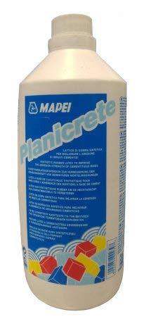 Planicrete Latex-Gummi PU (Verpackung LT1) Kunstharzdispersion zur Vergütung von Betonen, Estrichen und Putzen im Innen- und Außenbereich sowie zur Herstellung von Haftbrücken