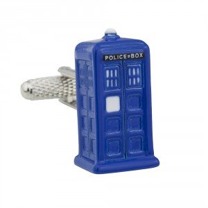 Dr Who Tardis Boutons de manchette