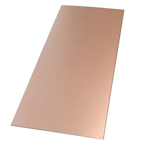 AERZETIX Platte aus Kupfer für Leiterplatte 210/100/1mm 35 μm Aluminium C40739