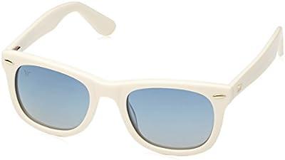 Wolfnoir, KIARA RAW BLUE - Gafas De Sol unisex multicolor (blanco/azul), talla única